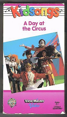 Image A Day At The Circus 1990 Vhs Jpg Kidsongs Wiki Fandom