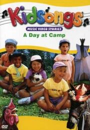 A Day at Camp DVD cover