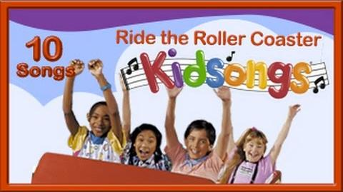 Ride the Roller Coaster Kidsongs Rollercoaster Kid Song Twist Water Ride Kids PBS Kids