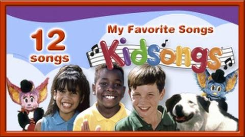 Kidsongs My Favorite Songs Nursery Rhymes 5 Little Monkeys Old MacDonald 1 2 3 PBS Kids