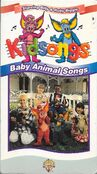 Baby Animal Songs - Original VHS