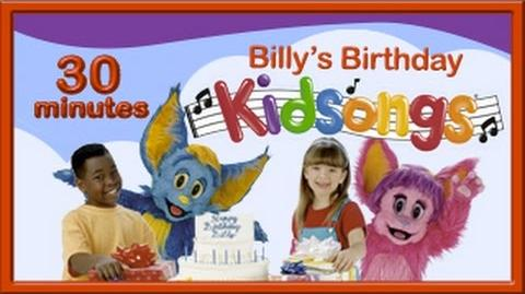 Happy Birthday Song Billy's Birthday Billy Biggle l Patty Cake Kidsongs Nursery PBS Kids