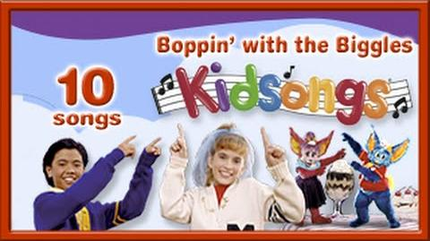 Boppin' with the Biggles by Kidsongs Kids Dance Songs La Bamba Head Shoulders Knees PBS Kids