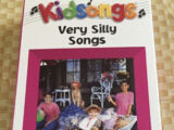 Kidsongs Very Silly Songs 1990 VHS (Sony Wonder Print)