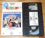 I'd Like to Teach the World to Sing - Original VHS