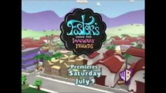 Kids' WB 2005 Foster's Home For Imaginary Friends Promos