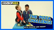 The Pizza Challenge with Cooper and Freddy