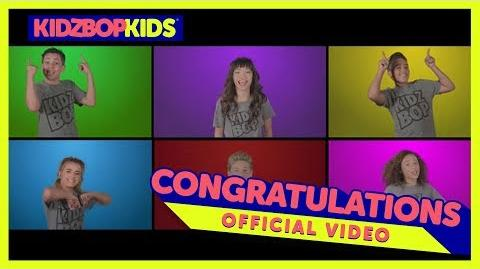 KIDZ BOP Kids –Congratulations (Official Music Video) KIDZ BOP 36