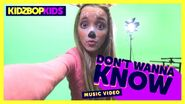 Don't Wanna Know Music Video