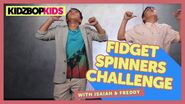 Fidget Spinners Challenge with Isaiah and Freddy