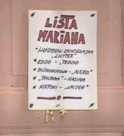 Lista Mariana