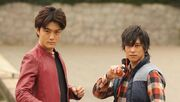Crossover gaim and kikaider gaim epi 30 by kamen riders-d7fzgig
