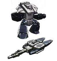 Rollout's Action Master partner Glitch from MtMtE