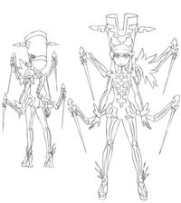 Nonon Jakuzure body (Symphony Regalia sketch)