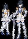 Satsuki Kiryūin body (Junketsu non-active)