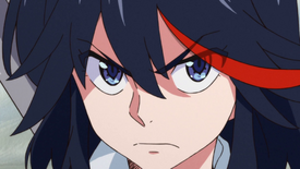 Ryūko Matoi close-up