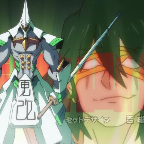 Санагэяма с мечом в опенинге <a href=