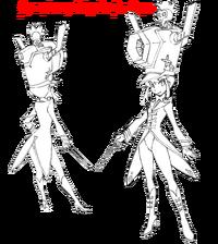 Nonon Jakuzure body (Symphony Regalia Da Capo sketch)