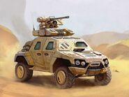 PLH Armoured vehicle