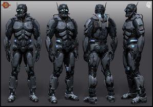 CCSCIA Agent Armor