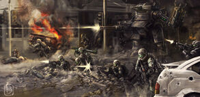 Krieg Armaments mercs