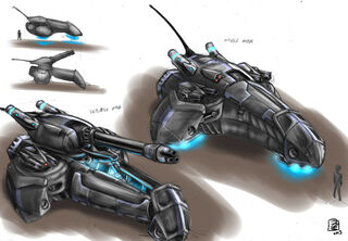 Turtle class hover artillery by s0lar1x-d5qayfc