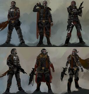 Helghast based armor for the PMC