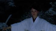 O-Ren and her sword (Kill Bill)