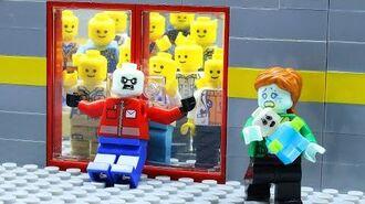 Lego Zombie Human Apocalypse- Zombie Defense - Lego Stop Motion Animation