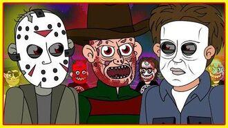 Freddy Krueger vs Jason Voorhees vs Michael Myers (Parody Animation)