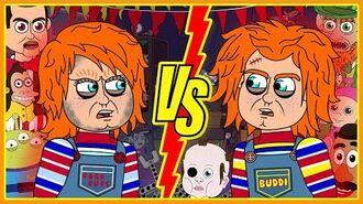 Old Chucky (1988) vs New Chucky (2019) (Parody Animation)