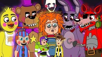 Chucky vs Five Nights at Freddy's vs Toy Story (FNAF Animation)