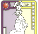 Violet/Yellow Lumbering Bunny