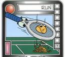 Ang-Strung Tennis Racket