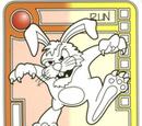 Orange/Yellow Sinister Bunny