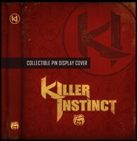 Killer-instinct-Collectible Pin Display Cover