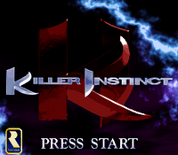 Killer Instinct SNES screen