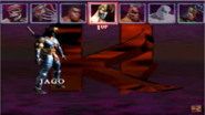 KI 1994 character select screen