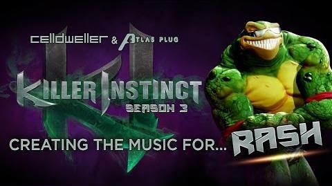 """Killer Instinct Season 3 - Creating The Music For """"Rash"""""""