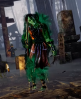 Hisako Mimic Skin in retro costume