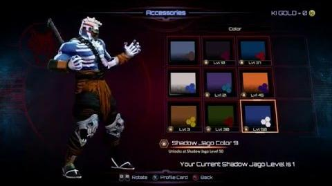 KILLER INSTINCT SHADOW JAGO ALL COLORS