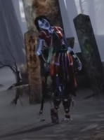 Hisako's retro costume