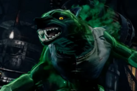 Sabrewulf Mimic Skin in retro costume