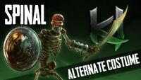 KI 2013 Spinal Alternate Costume