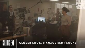 Closer Look Management Sucks Killing Eve Sunday at 9pm BBC America & AMC