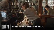 Closer Look Meet the Team Killing Eve Sundays at 9pm BBC America & AMC
