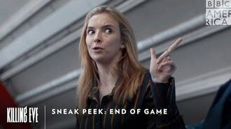 Sneak Peek End of Game Killing Eve Sundays at 9pm BBC America & AMC