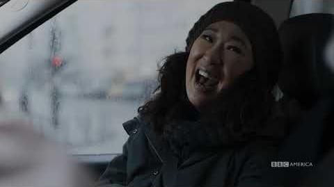 Congratulations Golden Globes Winner Sandra Oh - Killing Eve - BBC America