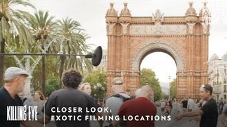 Closer Look Exotic Filming Locations Killing Eve Sundays at 9pm BBC America & AMC