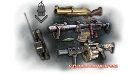 Demolition weapons